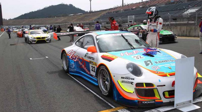 JAF Kyushu, is exhibited at the commercial vehicles based only endurance race %22Super durable series 2015 fourth round.%22-1