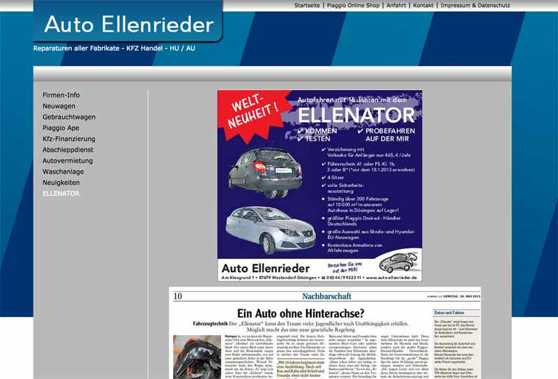 Deutschland, neue Arten von dreirädrigen Kraftfahrzeugen, die als Fuß von der Schule zur Verfügung gestellt wird-6-min