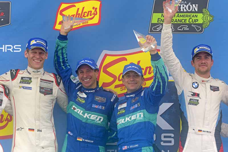 US TUSC Round 6, Falken tires car class victory-2-min