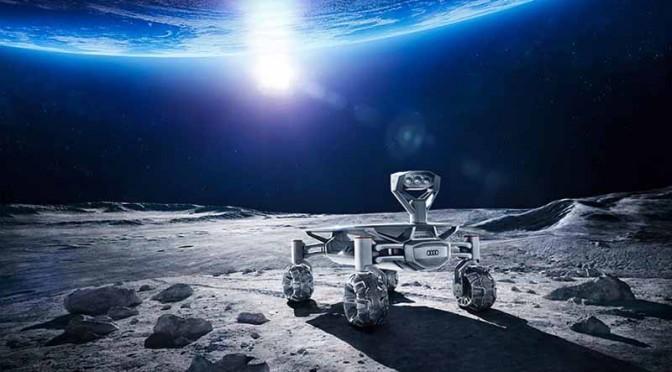 アウディ、月面探査車で月へのミッションをサポート
