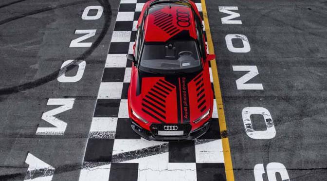 アウディ、米国で自動運転車のサーキット試乗会を実施