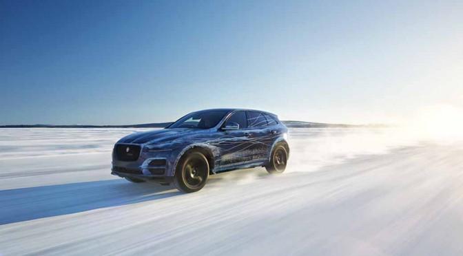 ジャガー「F-PACE」、氷原から灼熱まで極限環境下での走行テストを敢行