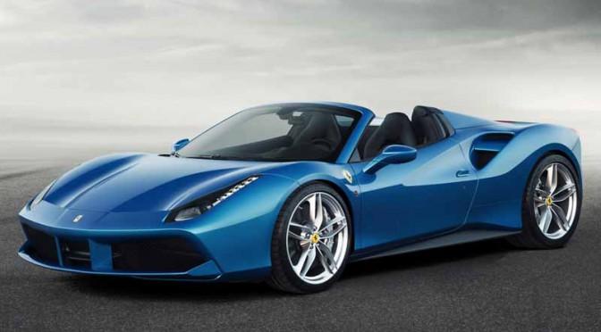 欧州時間7月28日・フェラーリ 488 スパイダー概要公開