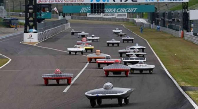 JAF、ソーラーカーレース鈴鹿2015をUstream配信