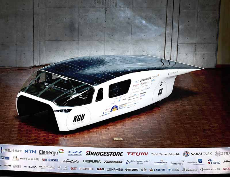 kogakuin-university-and-unveil-a-new-vehicle-owl-to-challenge-the-world-solar-challenge20150725-4