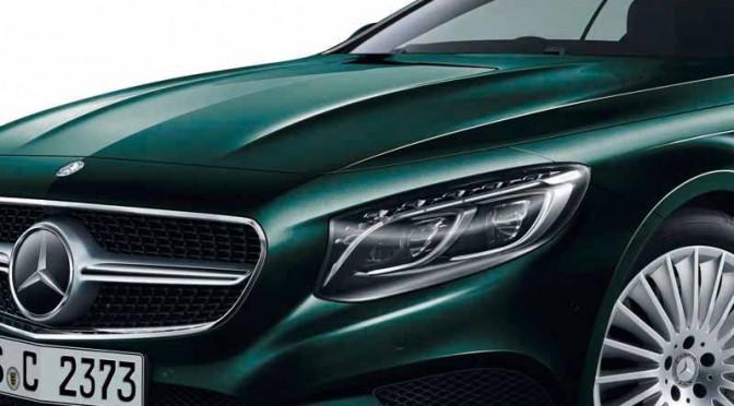 メルセデス・ベンツ日本、S 550 Coupé(右ハンドル仕様)を新設定
