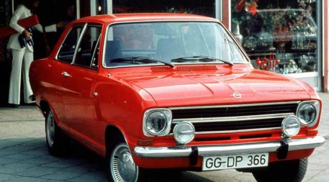 オペル・カデットBが生誕50年、通算260万台販売のベストセラーモデル