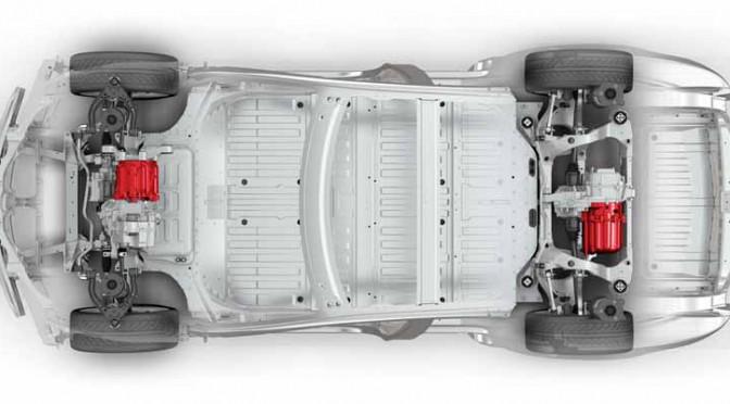 テスラジャパン、デュアルモーターAWDのモデルSデュアル(Model S70D)日本初公開
