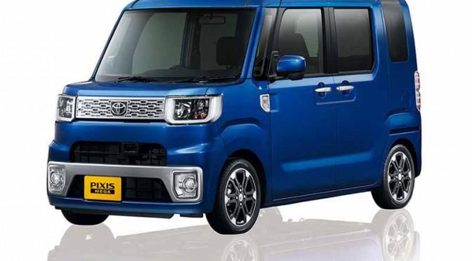 トヨタ、新型軽乗用車ピクシス メガを発売