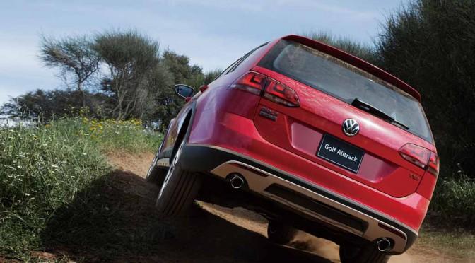 フォルクスワーゲン、クロスオーバー4WDワゴン「Golf Alltrack」新発売
