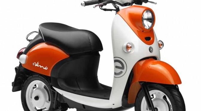 ヤマハのEVスクーター第4弾、レトロポップな「E-Vino」(原付一種)発売