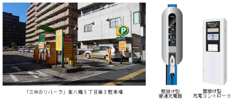 mitsui-fudosan-realty-and-nec-to-set-up-a-charging-infrastructure-for-ev-・-phv-to-ripaku-parking20150817-2