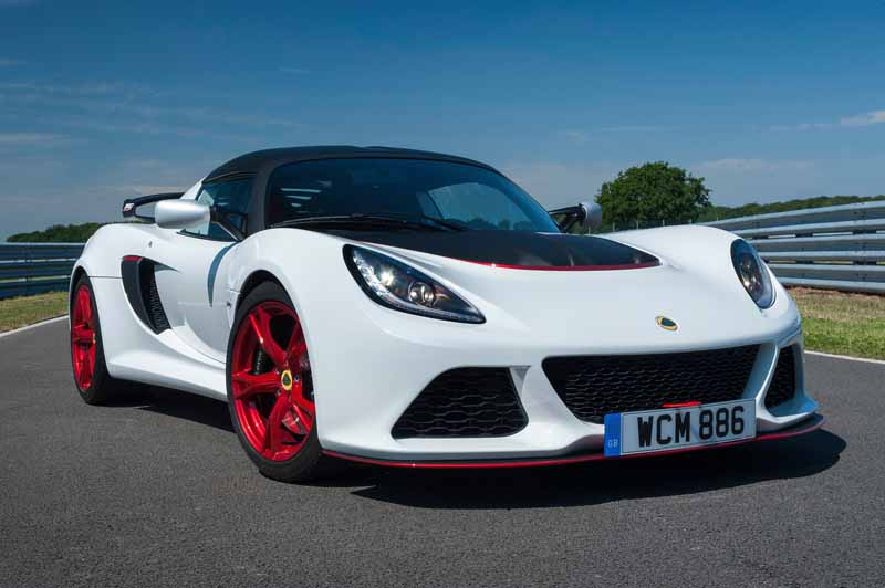 Lotus, 50 cars limited of Lotus Exige 360 Cup announcement20150816-1
