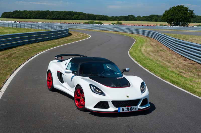 Lotus, 50 cars limited of Lotus Exige 360 Cup announcement20150816-5
