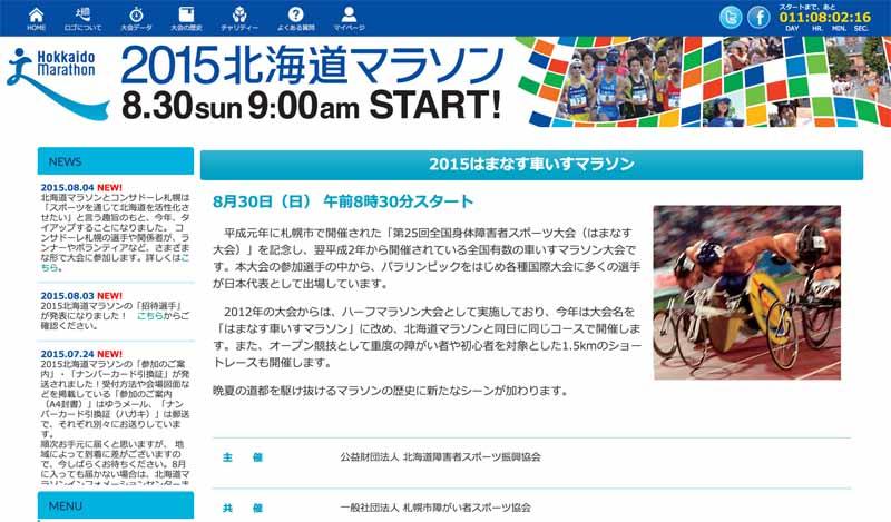 Tsuchida players of Yachiyo Industry, will compete in the 2015 Hamanasu wheelchair marathon-1