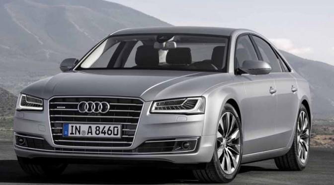 Audi A8仕様変更、3.0 TFSI quattroにマトリクスLEDヘッドライト搭載