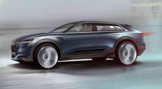 アウディ、EVの新境地を拓く「e-TRON quattro concept」をIAAで発表へ