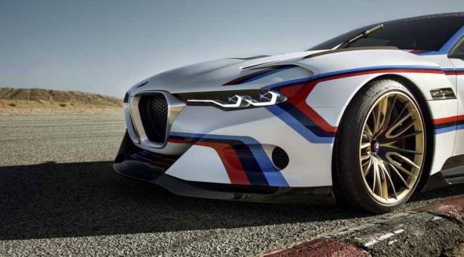 BMW、米ペブルビーチで3.0 CSL Hoomage-R発表