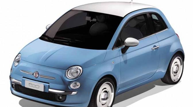 Fiat 500 Vintage(ヴィンテージ)120台限定発売