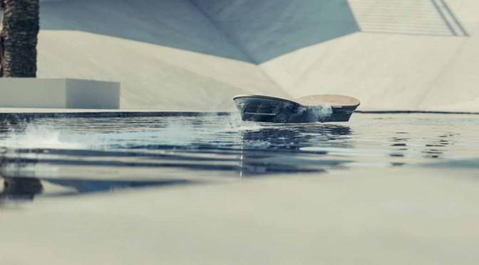 LEXUS、空中に浮かぶホバーボードの全容を公開