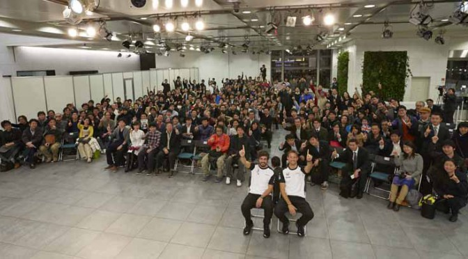 LIVE in AOYAMA、全日本選手権スーパーフォーミュラ第4戦パブリック・ビューイング