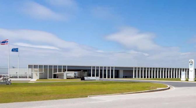 マツダ、タイの新パワートレイン工場で開所式を実施