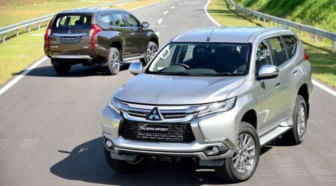 三菱自動車、タイで新型ミッドサイズSUV『パジェロスポーツ』を世界初披露