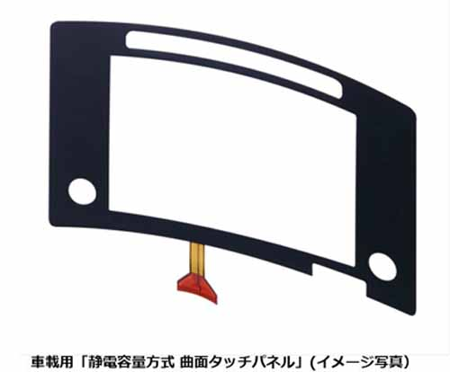panasonic-and-mass-production-of-the-electrostatic-capacitance-type-curved-surface-touch-panel-automotive20150813-1