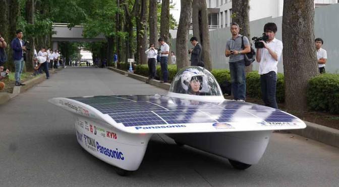 ジェイテクト、ソーラーカーレース参戦大学へ車軸支持用セラミック軸受提供