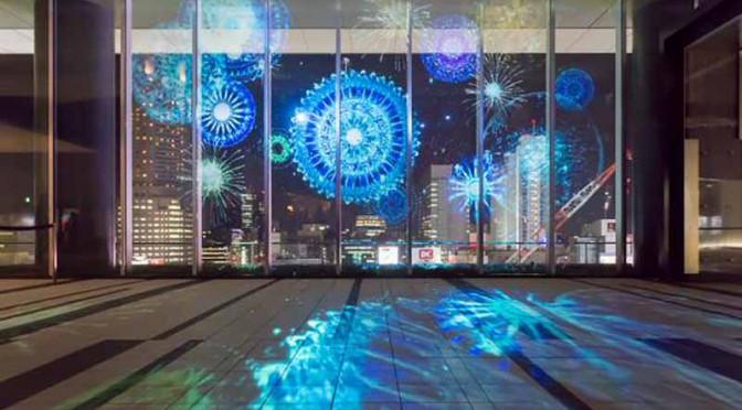 エネオスのスクリーンフィルムが渋谷ヒカリエのプロジェクションマッピングイベント採用 Motor Cars