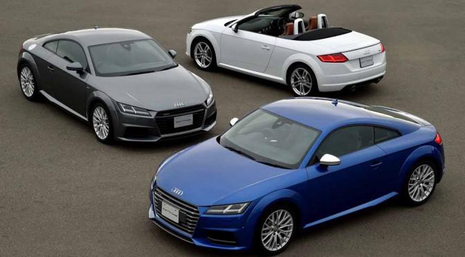 アウディ、The new Audi TT Press Conference Movie公開