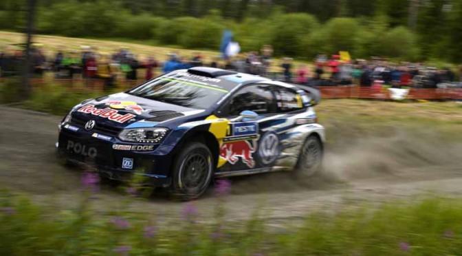 フォルクスワーゲン世界ラリー選手権( WRC)で今季 7勝目