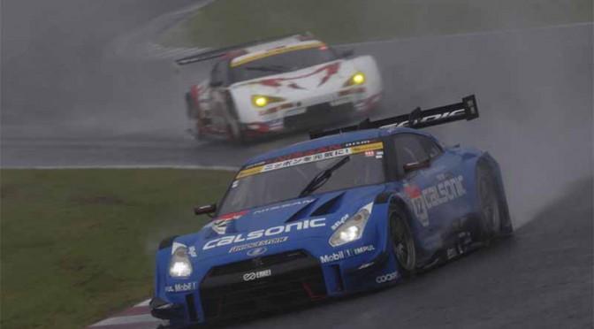 スーパーGT鈴鹿・シリーズ首位のカルソニックIMPUL GT-R、3位表彰台獲得