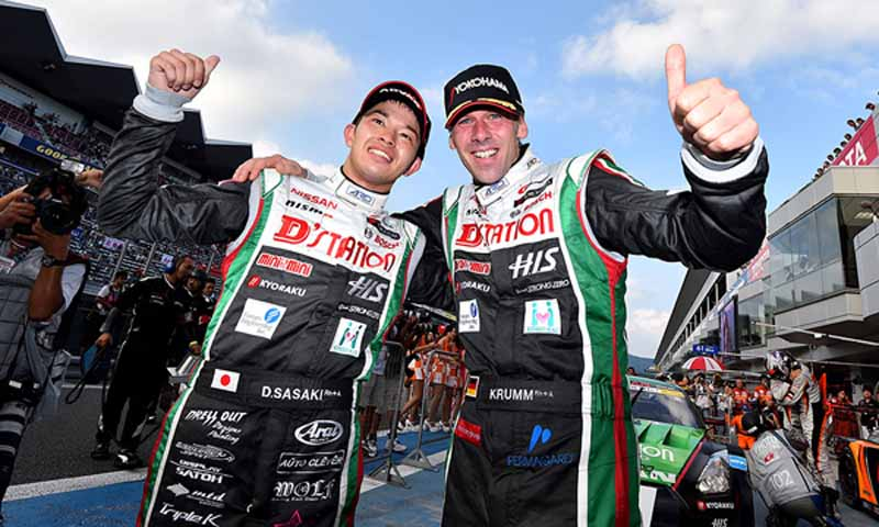 super-gt500-round-4-fuji-sasaki-krumm-won-series-rank-position-change20150810-6