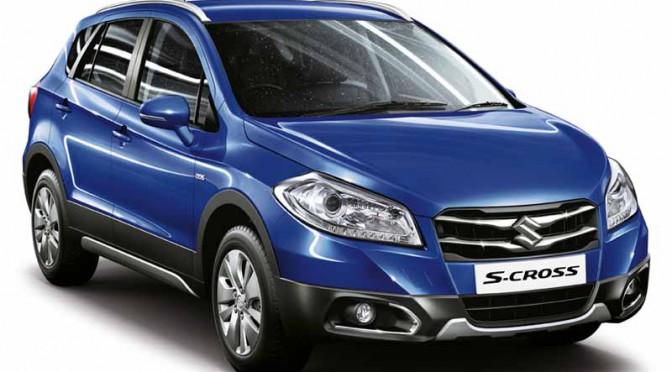 スズキ、インドの新販売網「NEXA」から新クロスオーバーSX4 S-CROSS発売