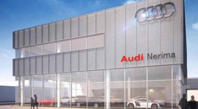アウディ正規販売店 「Audi 練馬」を新規オープン、最新CI/CDを導入した新店舗