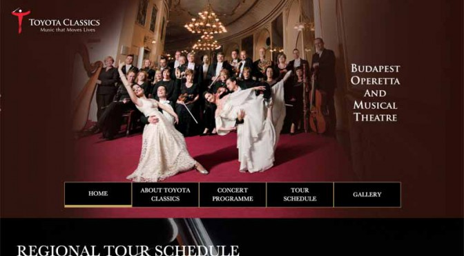 トヨタ、アジアで26回目のコンサート・ツアー「トヨタクラシックス」を開催