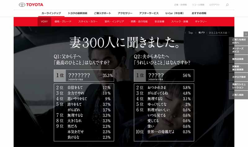toyota-voxy-special-video-in-300-people-wife-survey-word-1-i-want-to-say-to-her-husband20150802-3