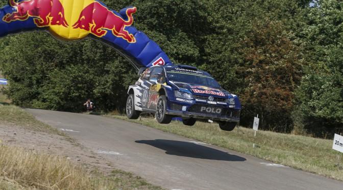 Sébastien Ogier (F), Julien Ingrassia (F) Volkswagen Polo R WRC (2015) WRC Rally Germany 2015