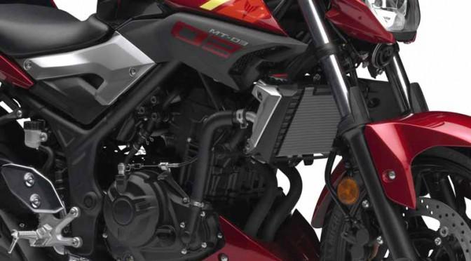 ヤマハ、軽量コンパクトな新MTシリーズ「MT-03」「MT-25」発売