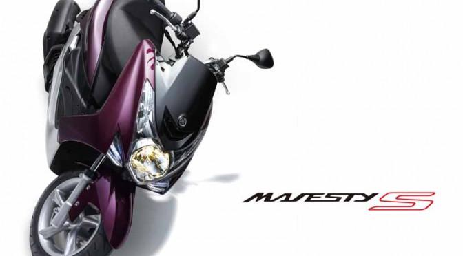ヤマハ、マジェスティ S XC155にツートン塗装のSPと創業60周年記念カラー登場