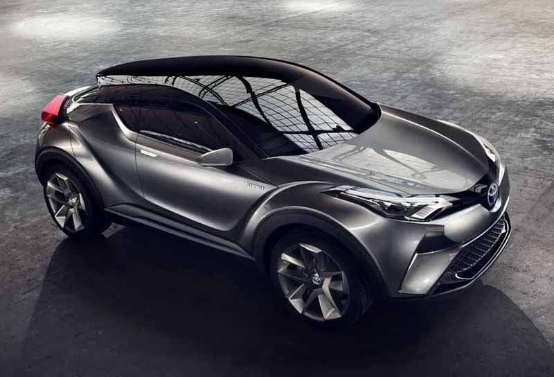 Toyota, the %22TOYOTA C-HR Concept%22 exhibition of the 5-door specifications IAA2015-12