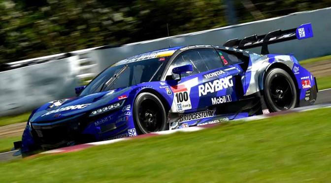 スーパーGT第6戦菅生・RAYBRIG NSX CONCEPT-GTが逆転初勝利