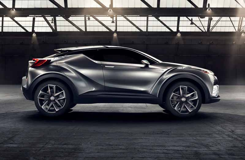 Toyota, the %22TOYOTA C-HR Concept%22 exhibition of the 5-door specifications IAA2015-14