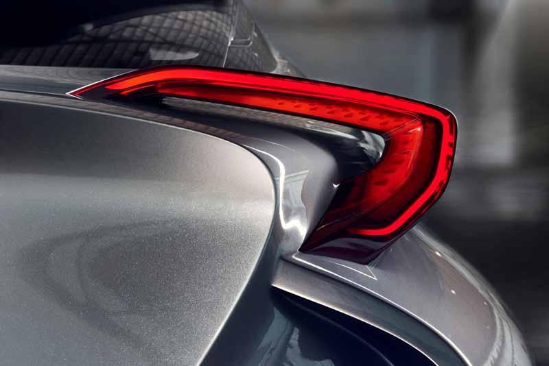 Toyota, the %22TOYOTA C-HR Concept%22 exhibition of the 5-door specifications IAA2015-3
