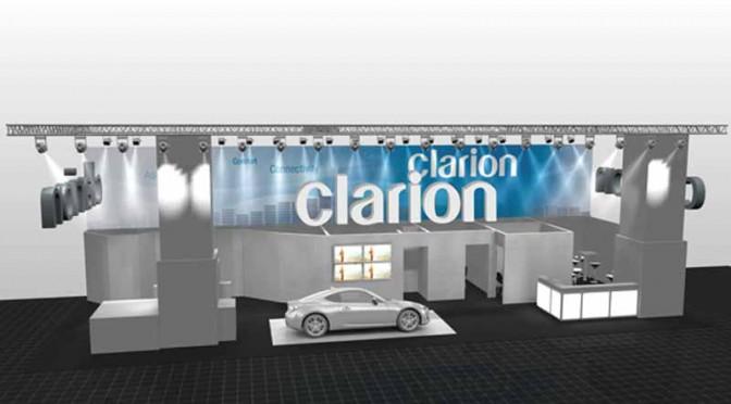 Clarion、フランクフルトモーターショーにブース出展