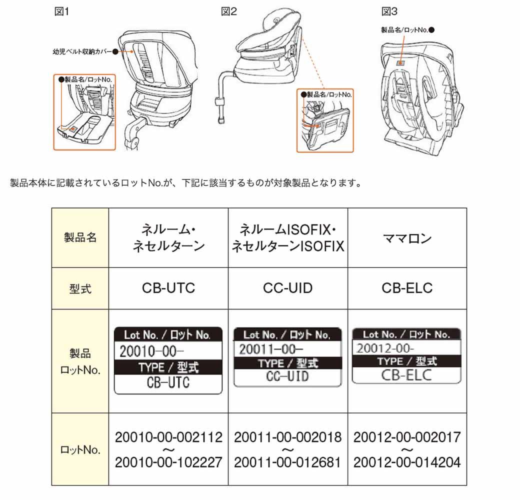 combi-nerumu-neserutan-of-the-child-seat-mamaron-free-repair-start20150906-1