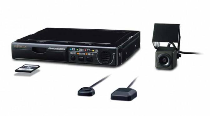 富士通テン、業務用ドライブレコーダー「G500シリーズ」発売