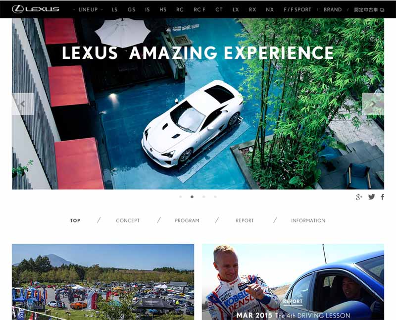 in-asama-motor-festival-lexus-experience-program-of-registrant-limited-held20150915-8