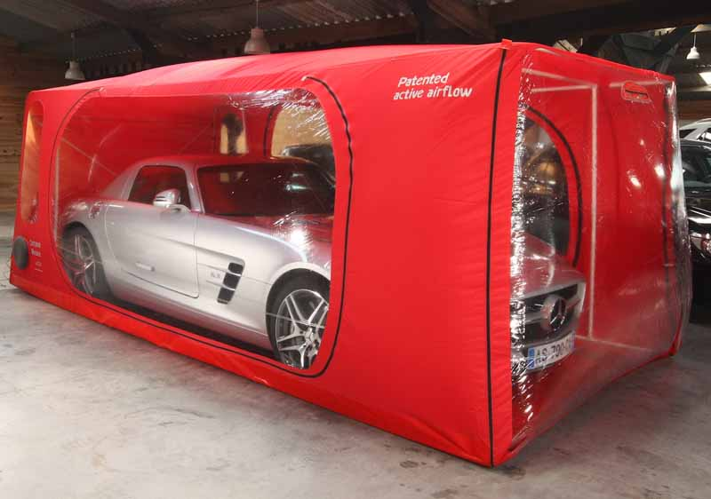 サビ防止の特殊ボディカバー「カークーン」にsuvやガルウイングドアokタイプ登場 Motor Cars